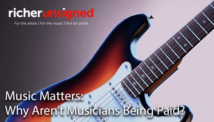 Music Matters: Why Aren't Musicians Being Paid?