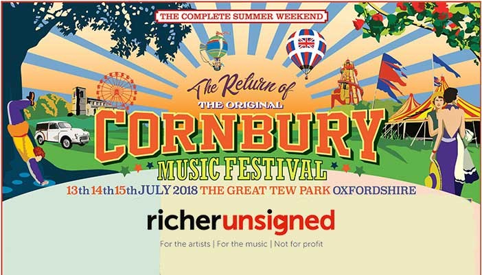 Richer Unsigned at Cornbury Music Festival 2018