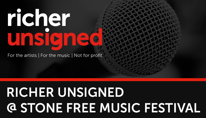 Richer Unsigned at Stone Free Festival